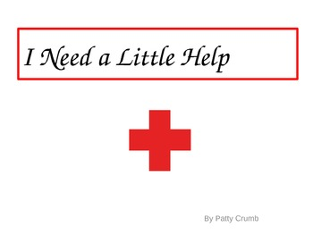 "Social Skills - I Need a Little Help - simple book with ""Please"" & ""Thank You"""