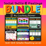 Social Skills & Identifying Feelings Bundle {Grades 2-3}
