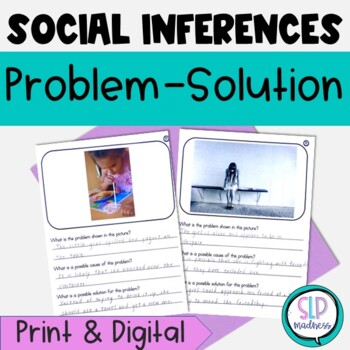Social Skills Identifying Problem & Solution, Inferences, Social Cues