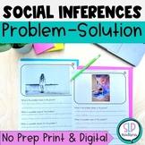 Social Skills Identifying Problem & Solution, Inferences,