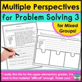 Problem Solving Activities for Mixed Speech Groups with Idioms and Articulation