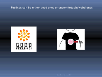 Social Skills: Intro to Good Thought and Weird thoughts; Expected and Unexpected