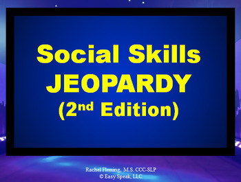Social Skills Jeopardy Game - 2nd Edition