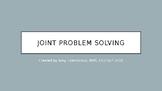 Social Skills: Joint Problem Solving