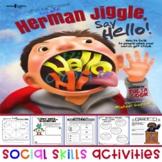 Social Skills - Julia Cook - Herman Jiggle Say Hello/Socia
