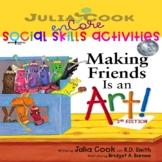 Social Skills-Julia Cook-Making Friends Is An Art