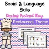 Restaurant Dramatic Play & Social Skills