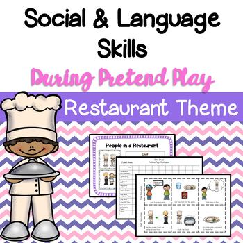 Restaurant Dramatic Play & Social Skills