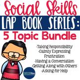 Social Skills Lap Book Bundle - Elementary School Counseling