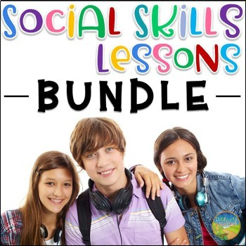 Social Skills Lessons BUNDLE for Older Kids