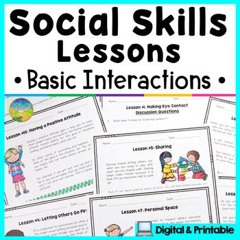 Social Skills Lessons - Basic Interactions