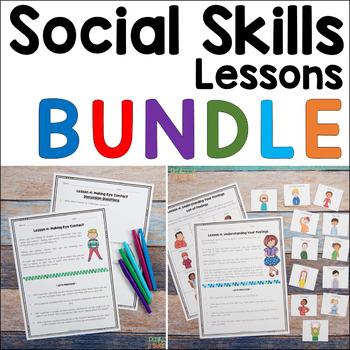 Social Skills Lessons Bundle