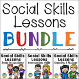 Social Skills Lessons Bundle - Distance Learning