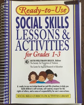 Social Skills Lessons and Activities