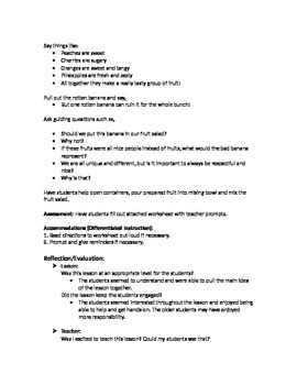 Social Skills Lessons and Assessments