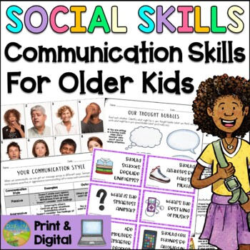 Social Skills Lessons for Communication Skills