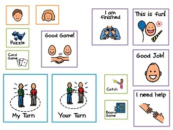 Social Skills Let's Play A Game By Nichole's Autism Classroom Supports