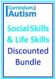 Social Skills Life Skills BUNDLE Autism Independent Tasks