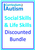 Social Skills Life Skills BUNDLE Autism Independent Tasks