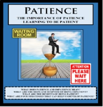 Social Skills - Life Skills - LEARNING TO BE PATIENT
