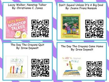Social Skills Listening Center (32 books) With Qr Codes