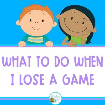 Social Skills - Losing a game