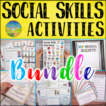 Social Skills Activities MEGA Bundle - Distance Learning
