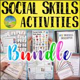 Social Skills Activities MEGA Bundle   SEL Activities, Lessons, & Worksheets