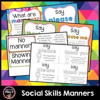Social Skills Manners