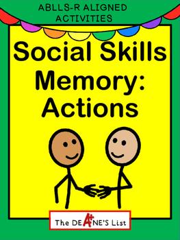 Social Skills Memory: Actions