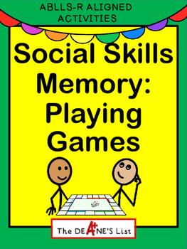 Social Skills Memory: Playing Games