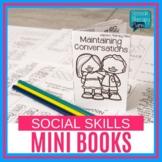 No Prep One Page Activities: Social Skills Mini Books