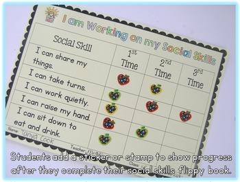 Social Skills Mini Flippy Books