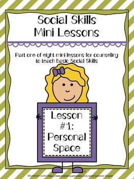 Social Skills Mini Lesson #1: Personal Space