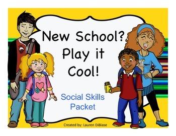 Social Skills Packet - New School Edition!