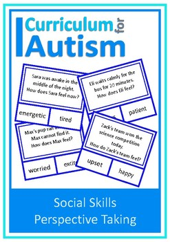 Social Skills Perspective Taking Feeling Autism Special Education