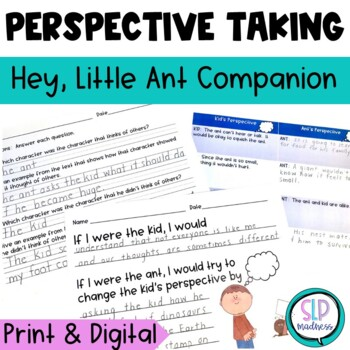 Social Skills, Perspective Taking, Thinking about others