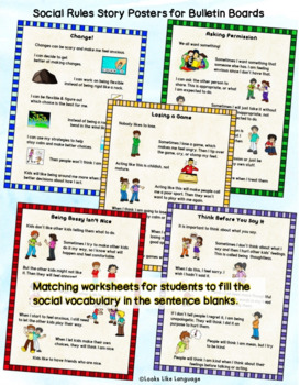 Social Skills Politeness Activities for Kind or Unkind Behaviors with BOOM Cards