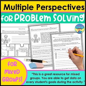 Social Skills Activities: Perspectives for Problem Solving, Narratives and R,S,L