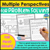Problem Solving and Perspective Activities 1 for Mixed Speech Groups