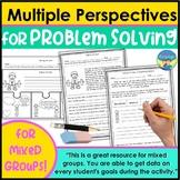 Social Skills Activities | Problem Solving Scenarios 1 for