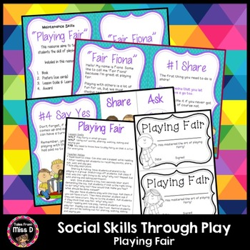 Social Skills Through Play Playing Fair