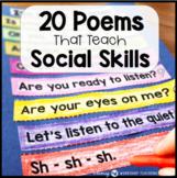 SOCIAL SKILLS Poem of the Week - FULL YEAR BUNDLE