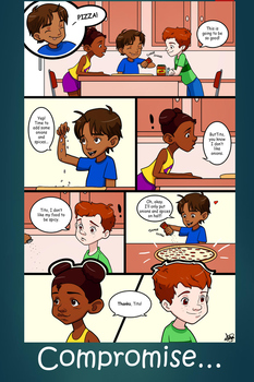 Social Skills Poster - Compromise