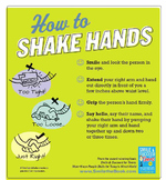Social Skills Poster: Manners-How to Shake Hands