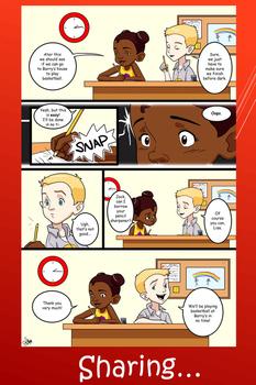Social Skills Poster - Sharing 1