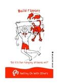 Social Skills Posters - 10 Illustrated Social Skills Skills