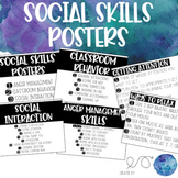 Social Skills Posters for Upper Elementary, Middle, & High School Students