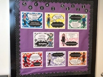 Social Skills Posters for Older Students