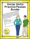 Social Skills Practice Passes